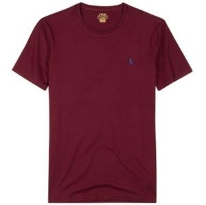 Polo by Ralph Lauren slim fit burgundy shirt